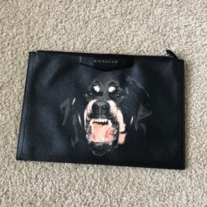 Givenchy Rottweiler Clutch/ Pouch